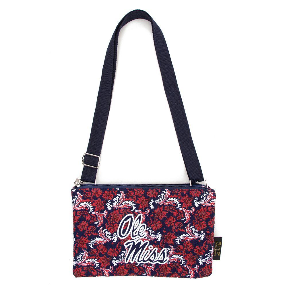 Ole Miss Rebels Bloom Crossbody Bag