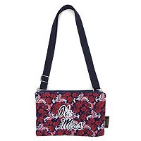 Ole Miss Rebels Bloom Crossbody Bag