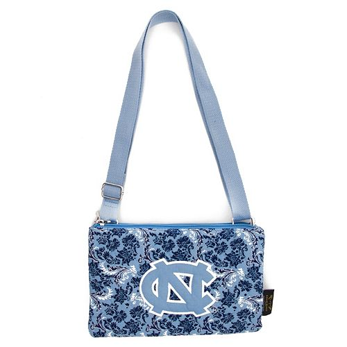 North Carolina Tar Heels Bloom Crossbody Bag