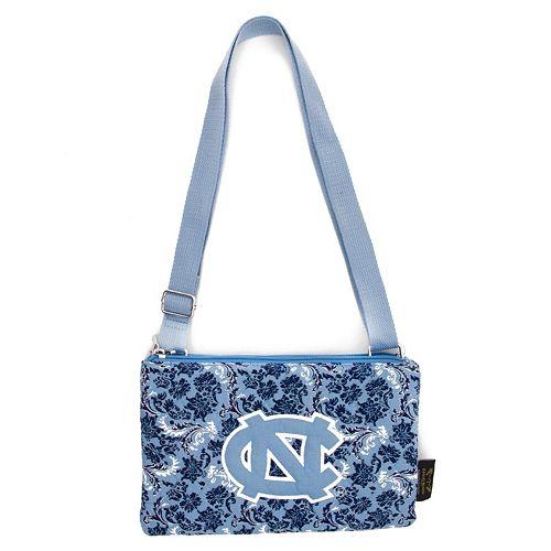 North Carolina Tar Heels Bloom Crossbody Bag
