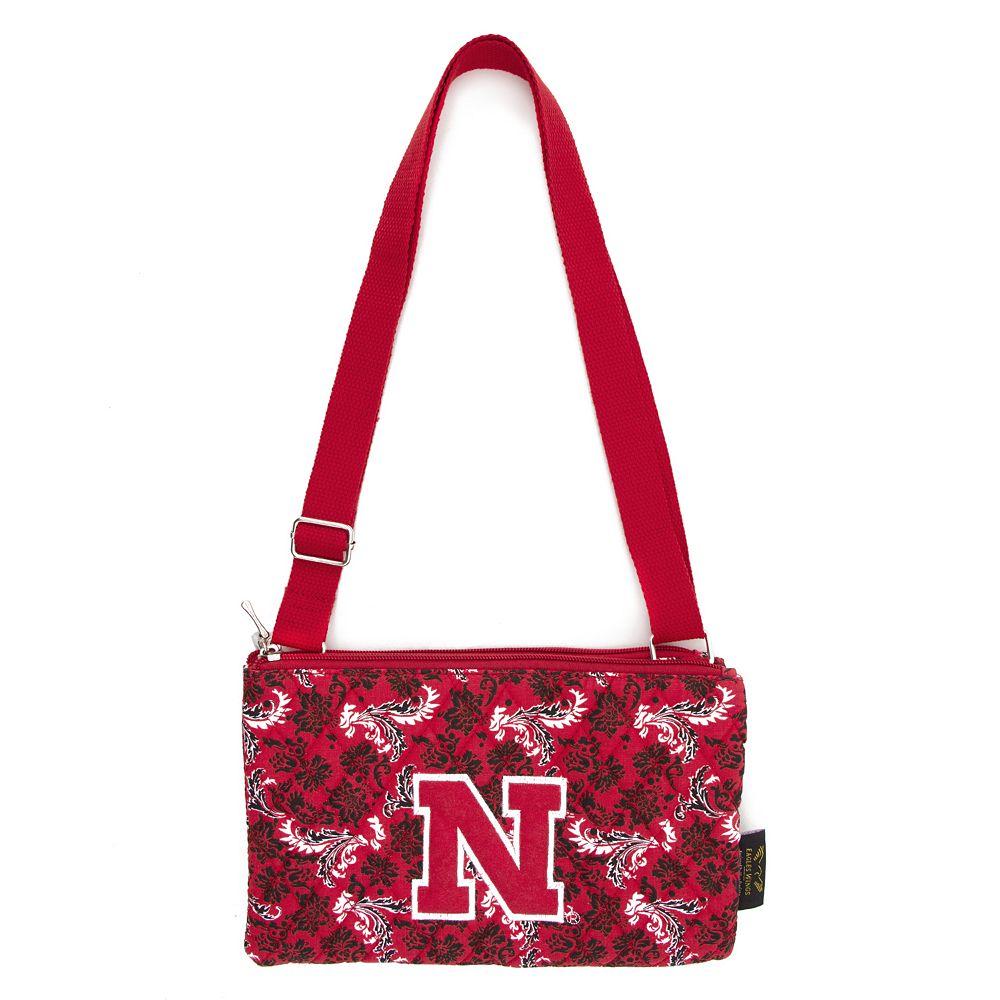 Nebraska Cornhuskers Bloom Crossbody Bag