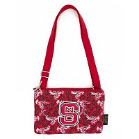 North Carolina State Wolfpack Bloom Crossbody Bag