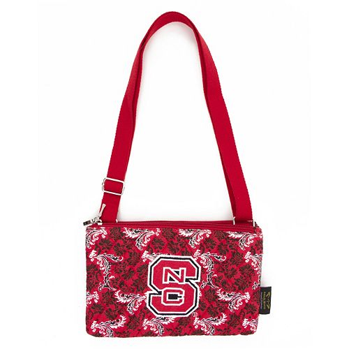 North Carolina State Wolfpack Bloom Crossbody Bag