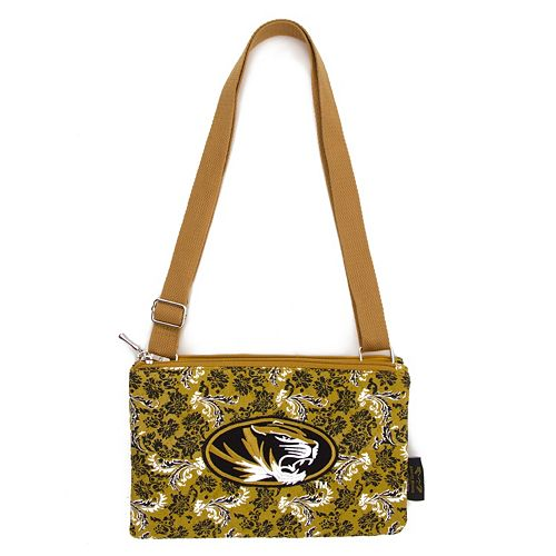 Missouri Tigers Bloom Crossbody Bag