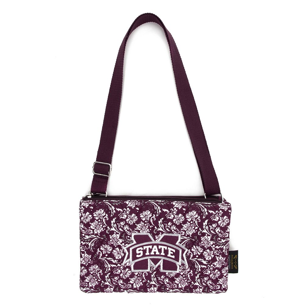 Mississippi State Bulldogs Bloom Crossbody Bag