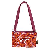 Virginia Tech Hokies Bloom Crossbody Bag