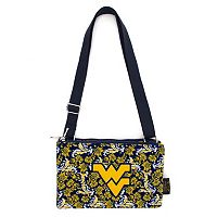 West Virginia Mountaineers Bloom Crossbody Bag
