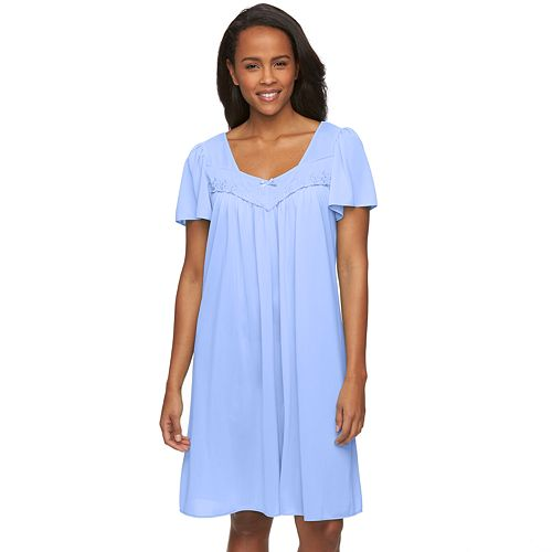 Women s Miss Elaine Essentials Pajamas  Short Tricot Nightgown 08a90825b