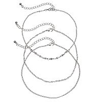 Mudd® Chain Choker Necklace Set