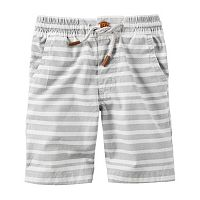 Toddler Boy Carter's Striped Pull-On Shorts