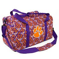 Clemson Tigers Bloom Large Duffle Bag