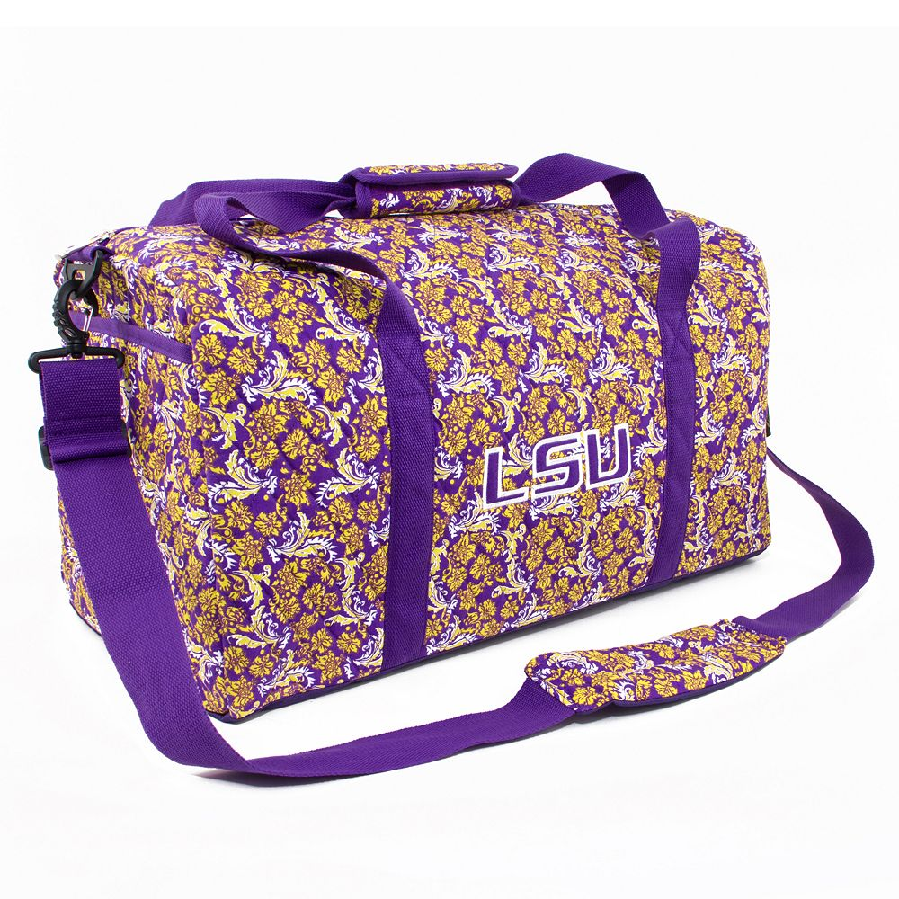 LSU Tigers Bloom Large Duffle Bag