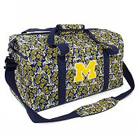 Michigan Wolverines Bloom Large Duffle Bag