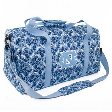 North Carolina Tar Heels Bloom Large Duffle Bag