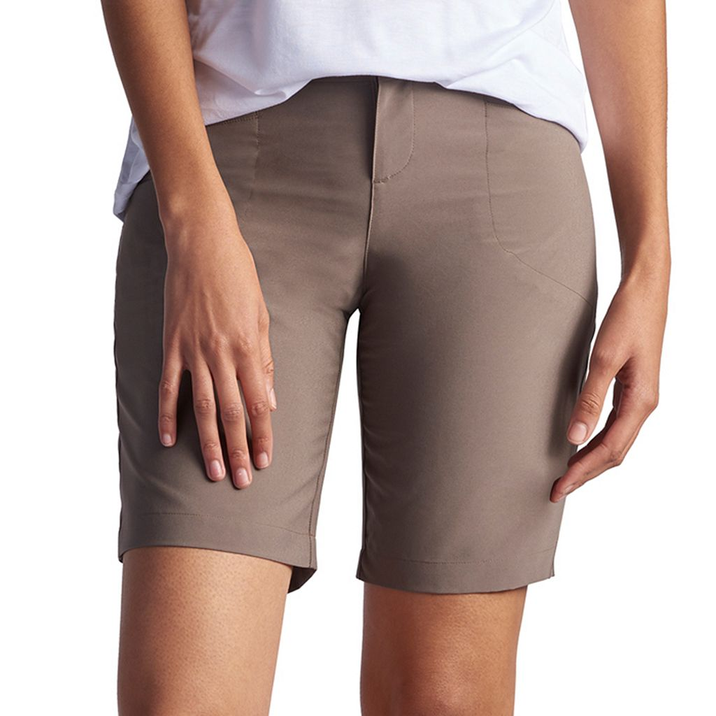 Petite Lee Milly Relaxed Fit Active Bermuda Shorts