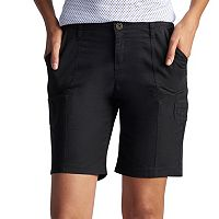 Petite Lee Delaney Relaxed Fit Bermuda Shorts