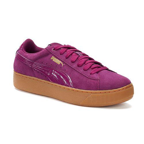 PUMA Vikky Platform Women's Suede Shoes