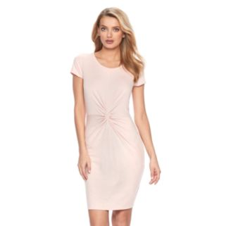 Women's Juicy Couture Glitter Twist T-Shirt Dress