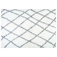 nuLOOM Alvera Easy Shag Lattice Rug