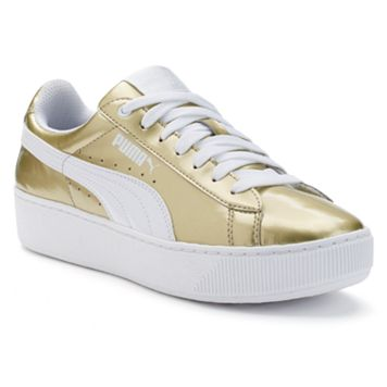 PUMA Vikky Platform Women's Metallic Shoes