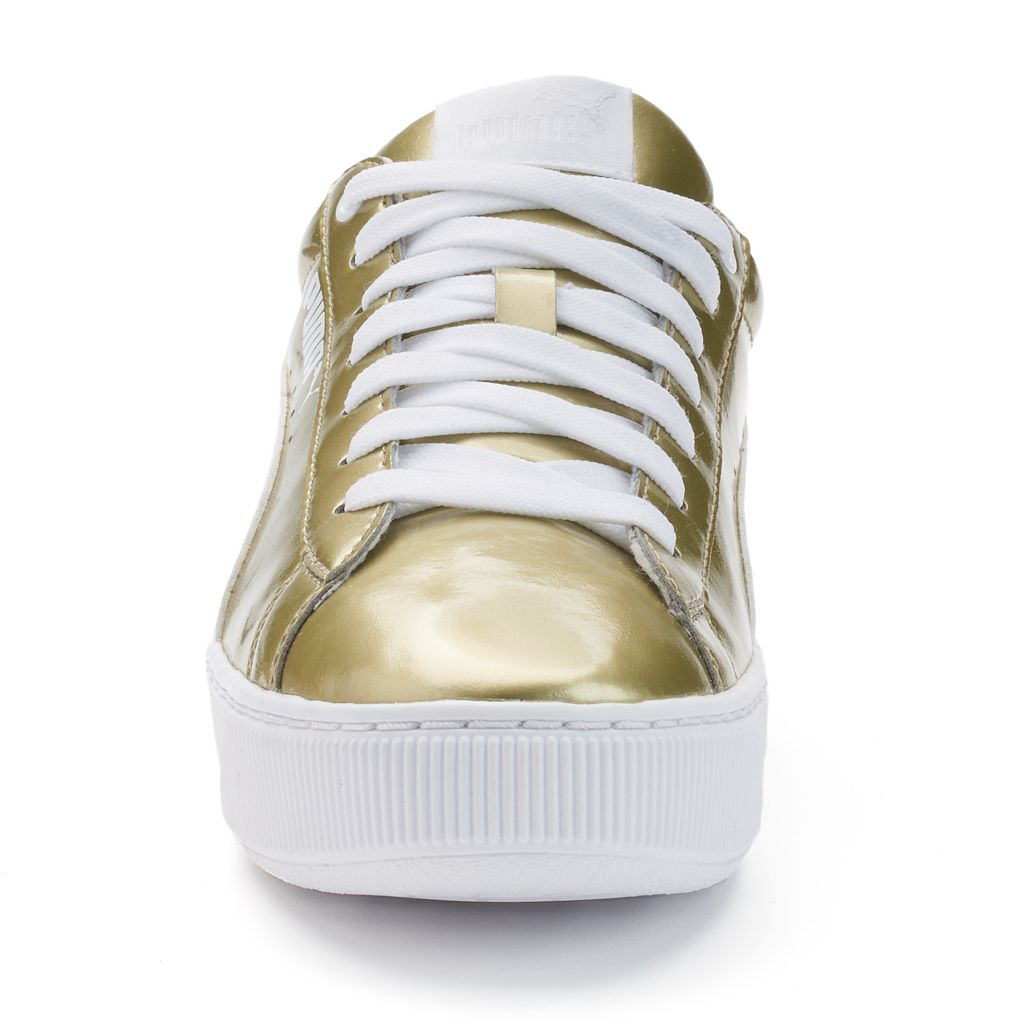 PUMA Vikky Platform Women's Metallic Shoes
