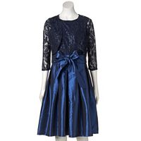 Women's Chaya Sequin Lace Dress & Shrug Set