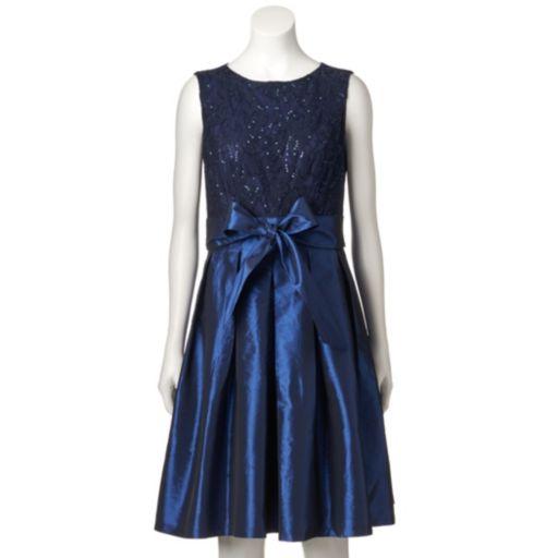Women's Chaya Sequin Lace Dress & Shrug Set
