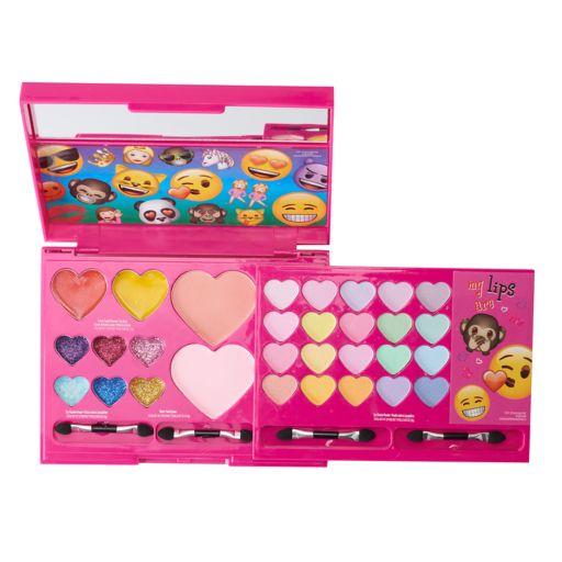 Girls Emoji Cosmetics Gift Set
