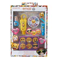 Girls Emoji Nail Polish & Accessory Set