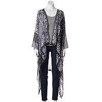 SONOMA Goods for Life™ Paisley & Floral Patchwork Kimono