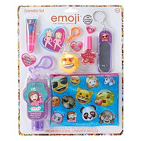 Girls Emoji Hand Santizer & Cosmetic Set