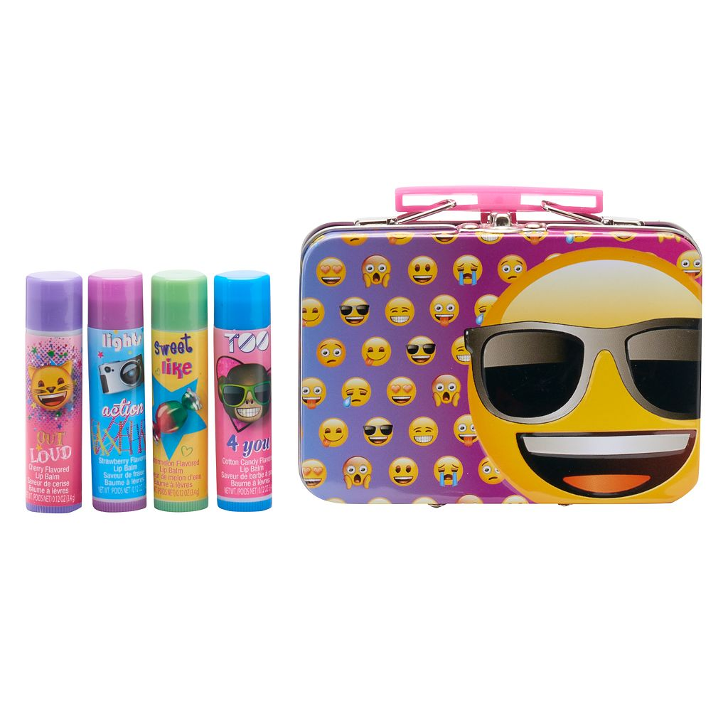 Girls Emoji 4-pk. Lip Balm Set