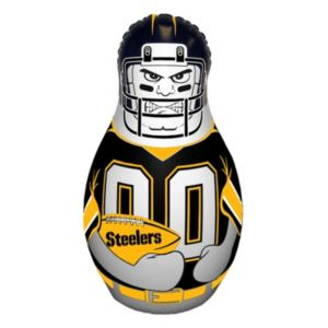 Pittsburgh Steelers 40-Inch Tackle Buddy Bop Bag