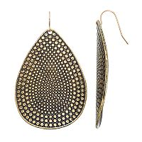 Mudd® Antiqued Teardrop Earrings