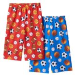 Boys 4-20 Up-Late 2-Pack Sports Ball Sleep Shorts
