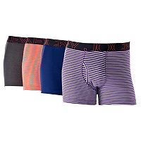 Men's Jockey 4-pack Active Blend Mid-Rise Performance Boxer Briefs