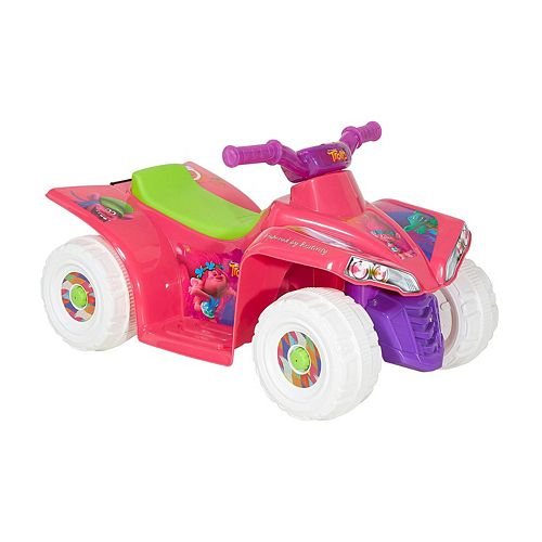 Dreamworks Trolls 6V Little Quad Ride-On by Dynacraft