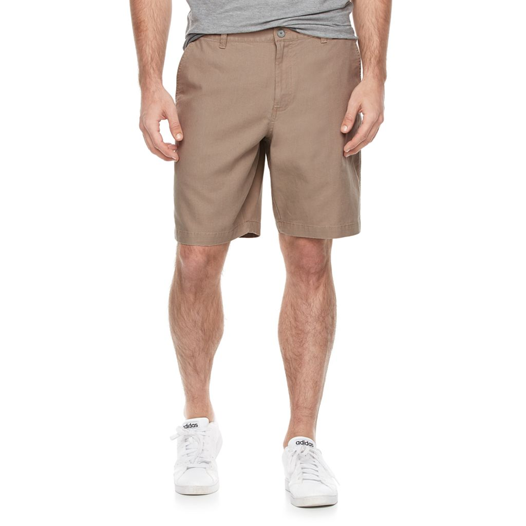 Men's Marc Anthony Slim-Fit Linen-Blend Shorts
