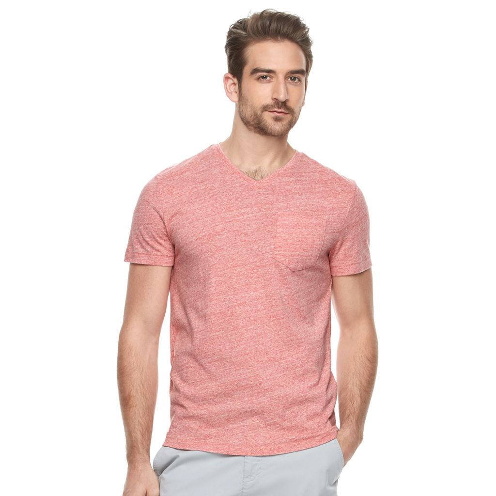 Men's Marc Anthony Slim-Fit Linen-Blend Tee