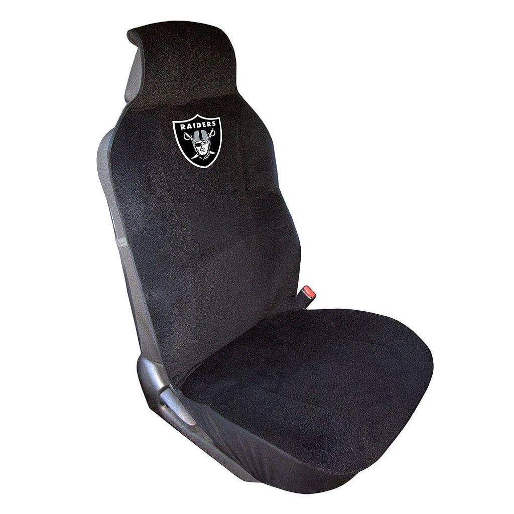 Oakland Raiders Car Seat Cover