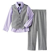 Boys 4-20 Van Heusen 4-Piece Vest Set