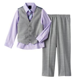 Boys 4-20 Van Heusen 4-Piece Vest Set