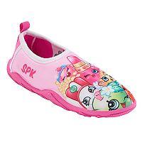 Girls 4-16 Shopkins Poppy Corn, Lippy Lips & Apple Blossom Aqua Shoes