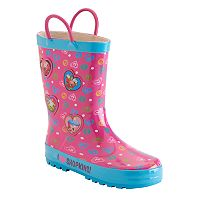 Girls 4-16 Shopkins D'lish Donut, Apple Blossom & Cupcake Chic Rain Boots