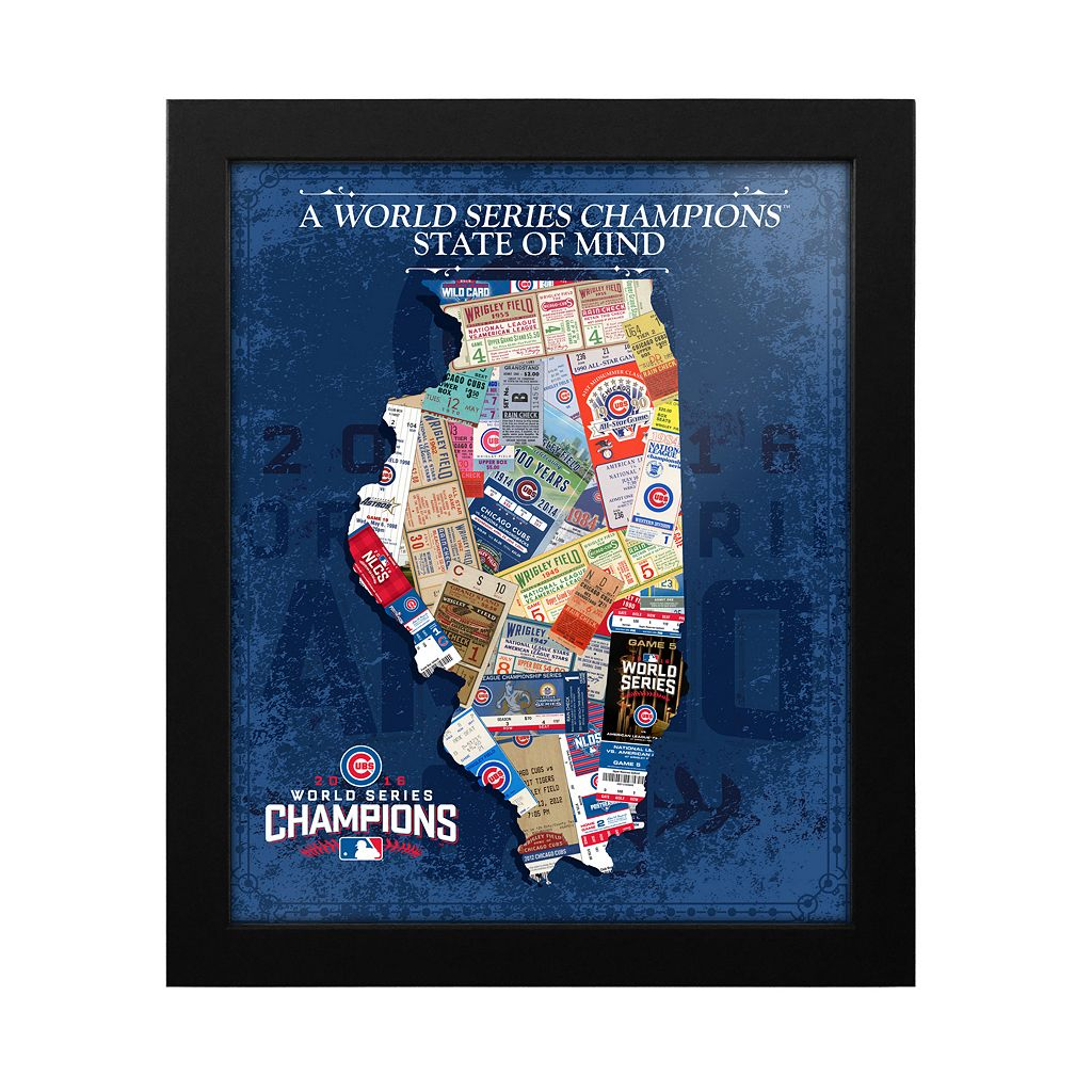 Chicago Cubs 2016 World Series Champions State of Mind 18