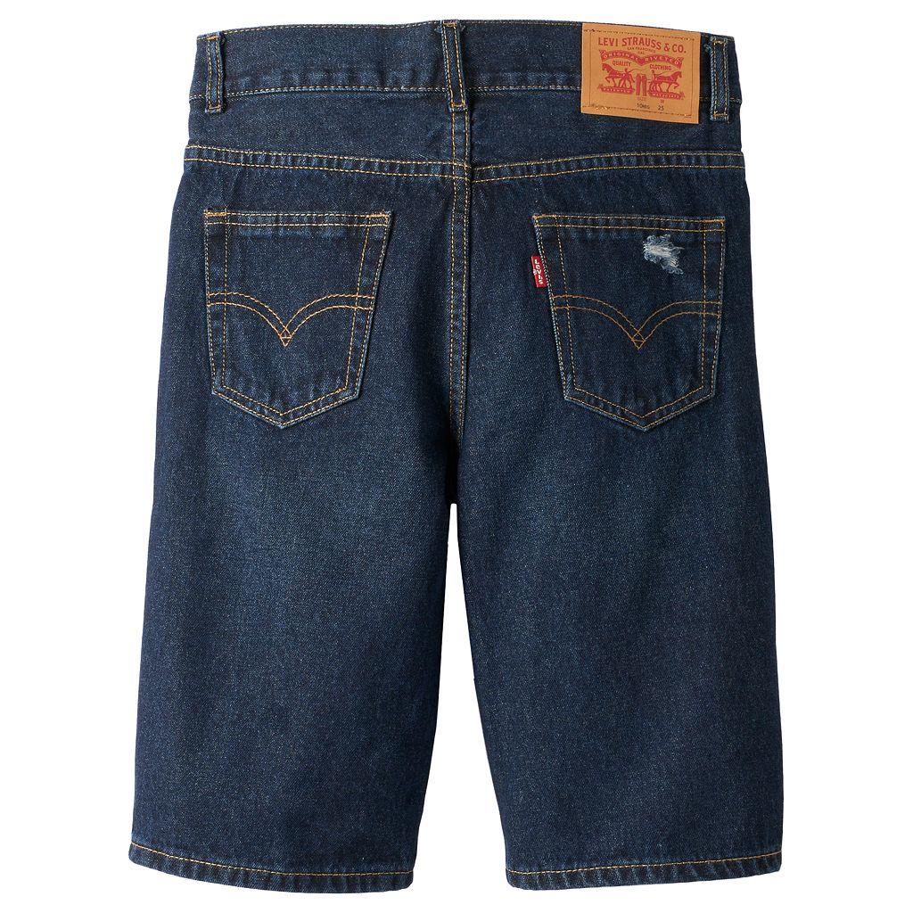 Boys 8-20 Levi's® 505™ Distressed 5-Pocket Denim Shorts