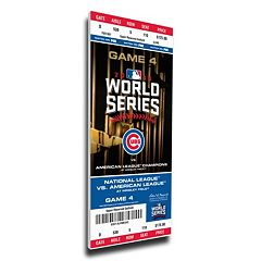 Chicago Cubs 2016 World Series Game 4 Mega Ticket