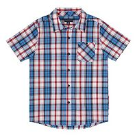 Boys 8-20 French Toast Plaid Button-Down Shirt