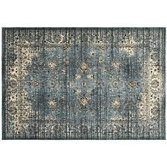 StyleHaven Evans Arabesque Traditions Framed Floral Rug