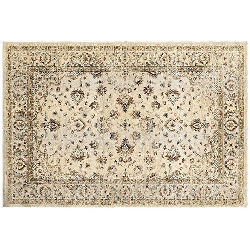 StyleHaven Evans Arabesque Traditions Framed Floral Rug